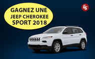 Concours Gagnez une Jeep Cherokee Sport 2018!